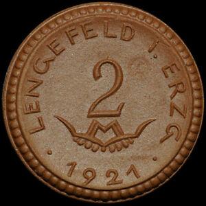 NOTGELD-2-Mark-1921-Porzellan-Meissen-WITTIG-amp-SCHWABE-LENGEFELD-SACHSEN