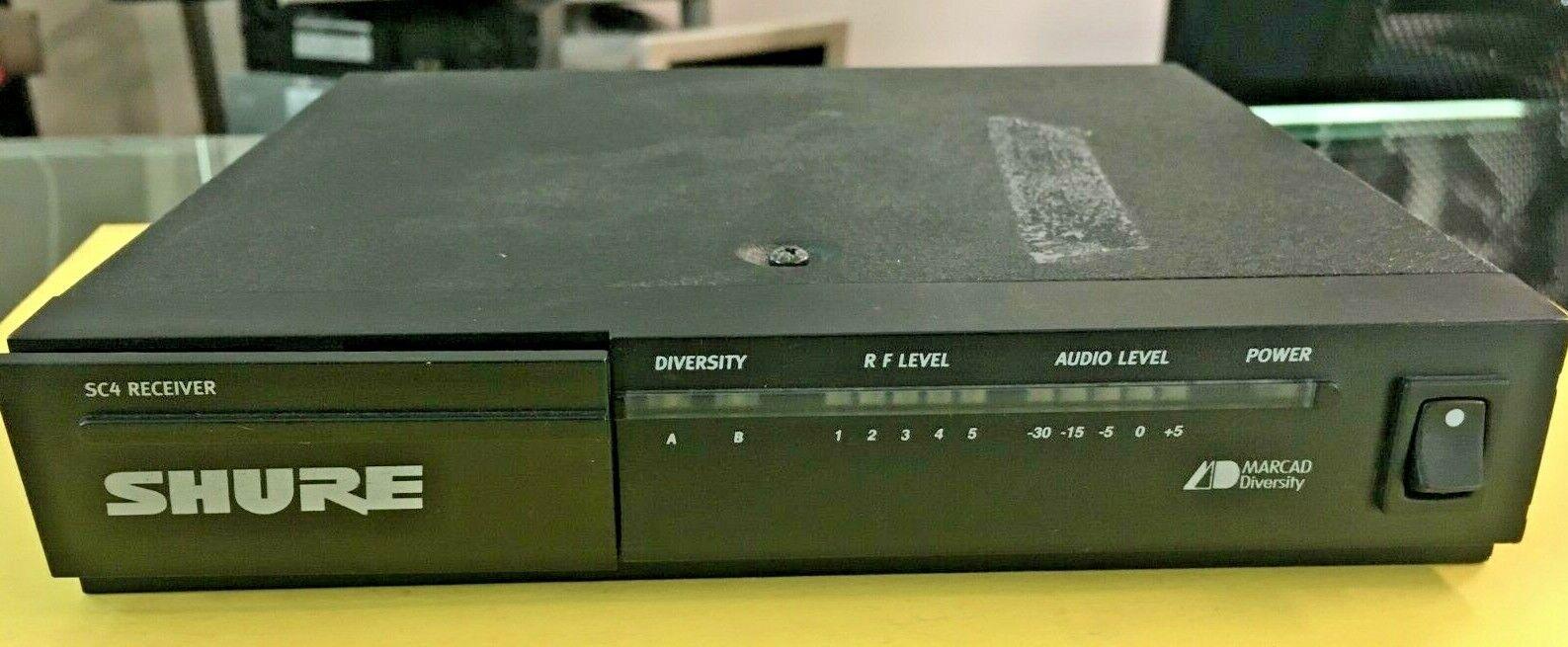 Shure SC4 CT Marcad Diversity senza Fili Ricevitore 206 mhz