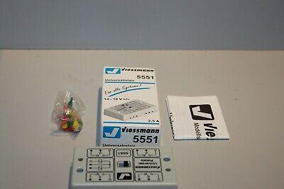 Bello 5551 Viessmann Relè Universale Nella Confezione Originale-s In Der Ovp It-it Mostra Il Titolo Originale
