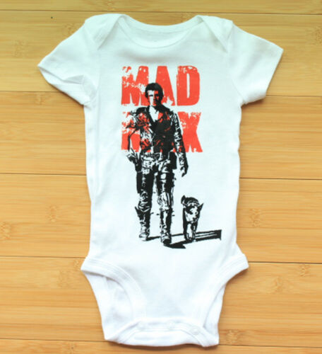 Mad Max Mel Gibson Bodysuit Long or Short Sleeve  All Sizes