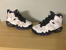 90072a82d1ea item 4 Nike Air Max2 Max CB 94 GS Sz 5y Charles Barkley 309560-105  White Black Purple -Nike Air Max2 Max CB 94 GS Sz 5y Charles Barkley  309560-105 ...