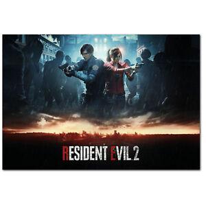 Resident Evil 2 Remake Poster Official Alternative Art High