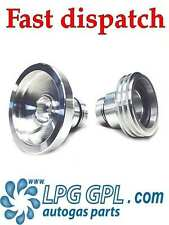 LPG GPL filling point adapter UK to Europe Combination Propane Autogas set of 2