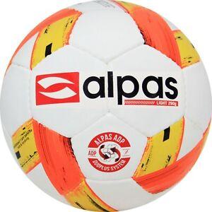 15-x-FUSSBALL-GROssE-3-290g-ALPAS-FUssBALLE-TRAININGSBALLE-G-JUGEND-LEICHTBALL