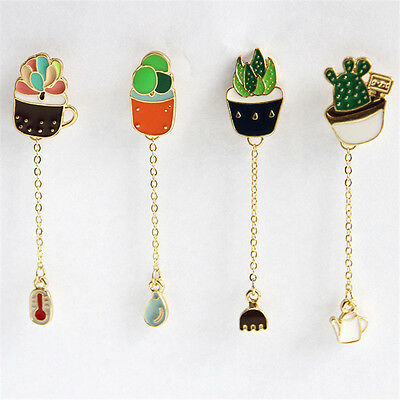 1Pc Lovely Cute Creative Collar Pins Badge Corsage Cartoon Brooch Jewelery