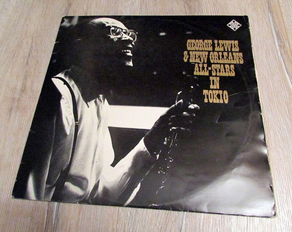 LP, George Lewis & His New Orleans All-Stars, George Lewis &