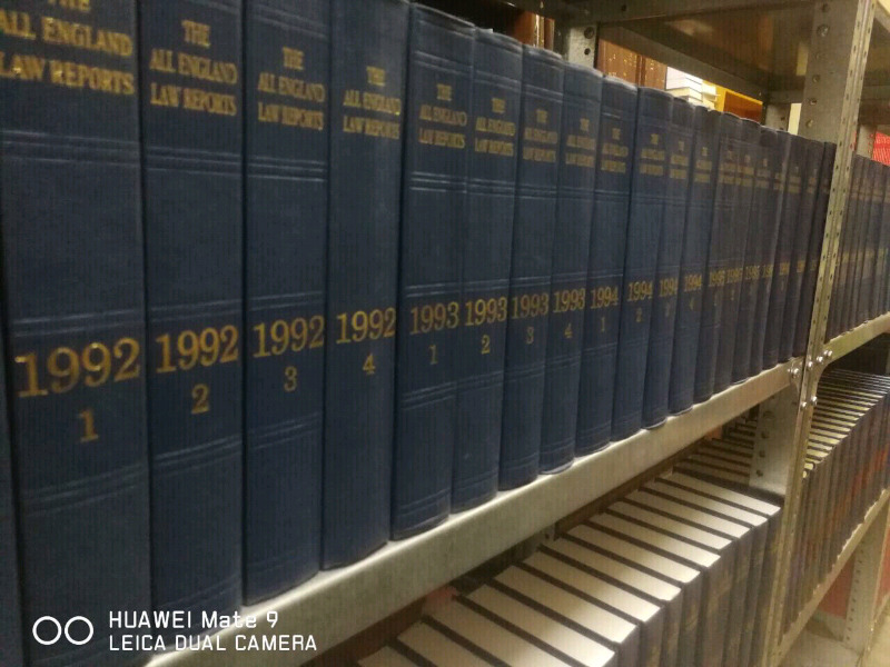 The All England Law Reports: 1558-2019