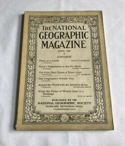 National-Geographic-Magazine-April-1920-Peary-As-A-Leader