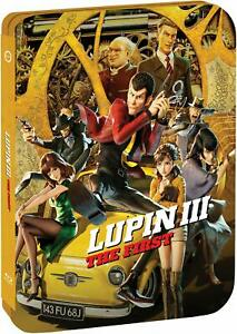 LUPIN-III-The-First-U-S-LIMITED-EDITION-STEELBOOK-Blu-ray-DVD-NEW
