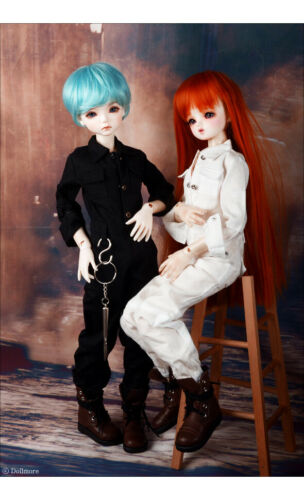 1//4 BJD working clothes MSD Dollmore Mila Coverall White