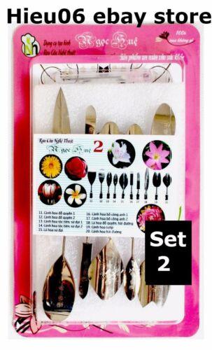 10 Tool Edible Bithday Cake Decorating Jello Party Set#02 3D Gelatin Art Tools