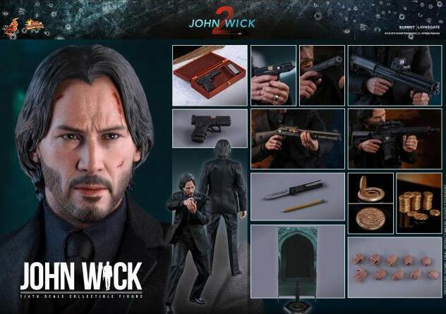 Pre-order Hot Toys MMS504 John Wick capítulo 2 16 Escala Figura De Acción