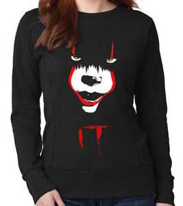 Georgie Pennywise V01 Clown Film//Film Femme Sweat Stephen King/'s It
