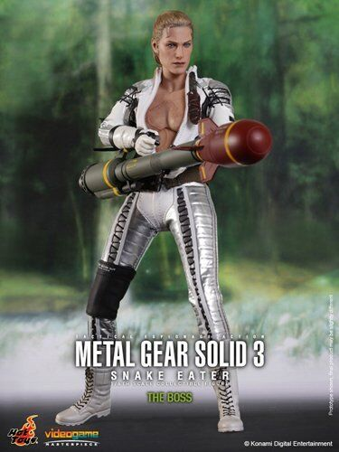 HOT TOYS VGM14 METAL GEAR SOLID 3 SNAKE EATER: THE BOSS 1/6TH SCALE COLLECTIBLE