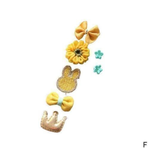 7 teile//satz Kinder Baby Mädchen Haar Clips Bogen Haarnadel Q0U6 Stirnb Hea F4C8