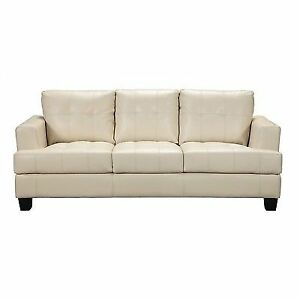 Coaster 501691 Samuel Contemporary Leather Sofa By