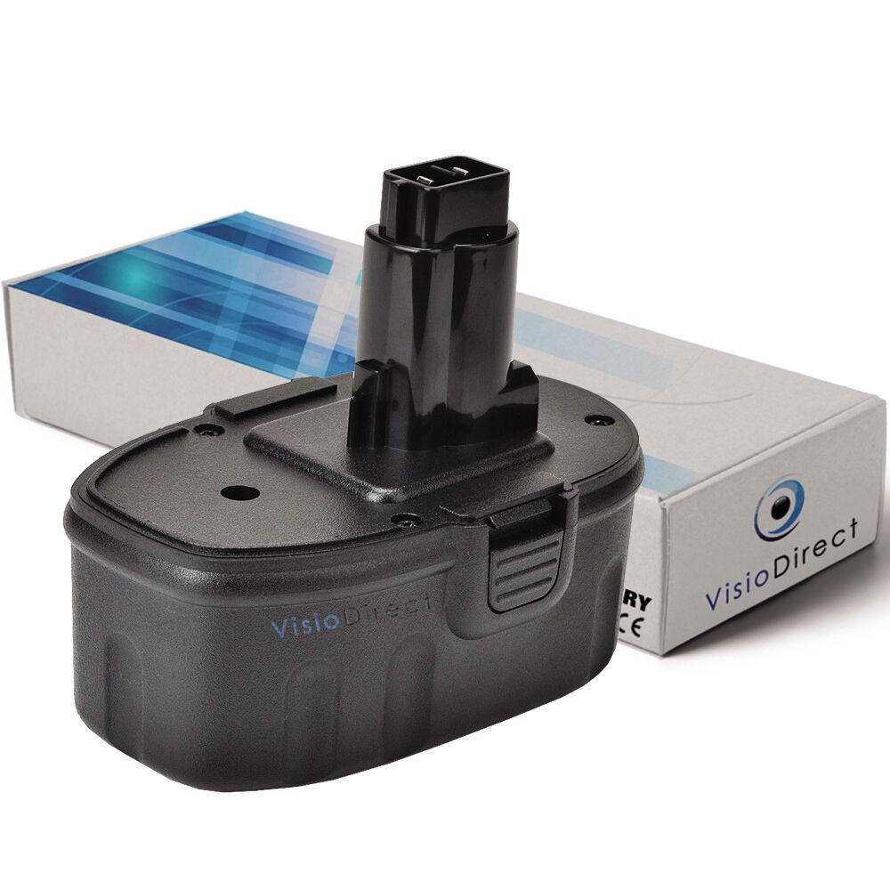 Batterie type DE9038 14.4V 3000mAh pour Dewalt  - Société Française -