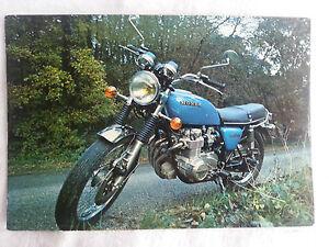 CPA-Carte-postale-Moto-Pilote-Honda-CB-550-Four