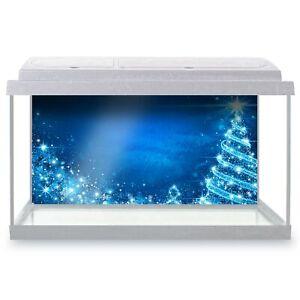 Fish-Tank-Background-90x45cm-Magical-Christmas-Tree-Blue-2864