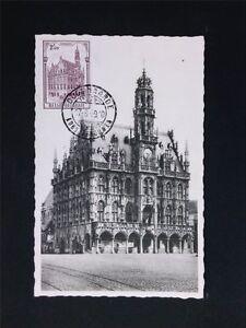 Responsable Belgique Mk 1959 Mairie Oudennarde Maximum Carte Carte Maximum Card Mc Cm C5720