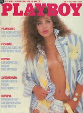 Playboy 7,07/1988 Juli, Janine Weinert, Teresa Johnson, zum Geburtstag