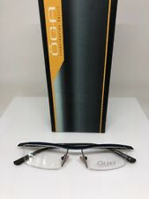 3793339ba66a item 4 New OGA T121 Eyeglasses Rx Frames C. Navy With Brown Size  52mm Made  in France -New OGA T121 Eyeglasses Rx Frames C. Navy With Brown Size  52mm  Made ...
