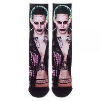 The Joker Suicide Squad Movie Premium Crew Socks Dc Comics Batman Jared Leto