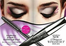 Avon SuperExtend Winged Out Mascara with Fibre  ~ NEW Sealed ~ BLACKEST BLACK