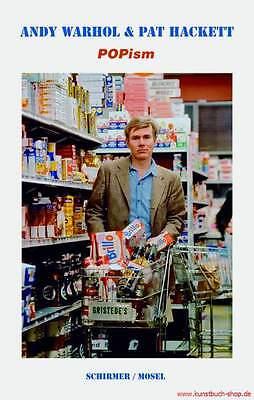 Fachbuch Biografie Andy Warhol POPism Meine 60er Jahre OVP REDUZIERT