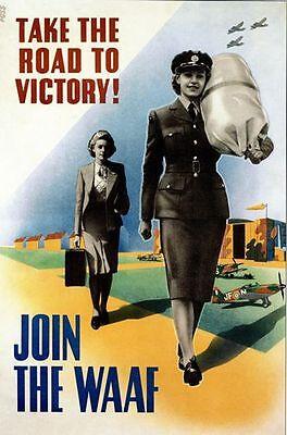 A2  Reprint World War One Royal Air Force Recruitment Poster   A3