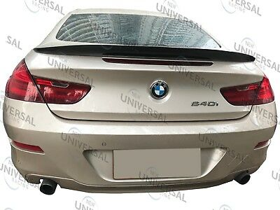 Carbon Fiber Trunk Spoiler Lip For 11-18 BMW F12 6 Series M6 Convertible Type A