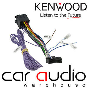 Details about Kenwood ISO Head Unit Replacement Car Stereo Wiring Harness on dual head unit wiring, alpine head unit wiring, sony head unit wiring,