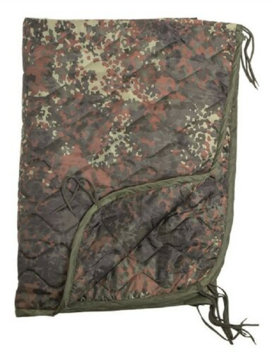 Woobie Liner Poncho blanket Coperta Trapunta outdoor army BW Mimetica