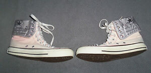 a627208c85031b Image is loading CONVERSE-ALL-STAR-HI-TOPS-BOOTS-TRAINERS-GREY-