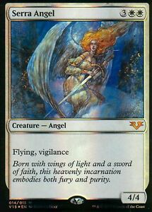 Serra-Angel-FOIL-NM-From-the-Vault-Angels-Magic-MTG
