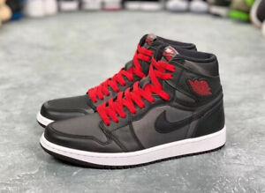 Nike Air Jordan 1 Retro Hi Og Black Gym Red 555088 060 Size 9 5