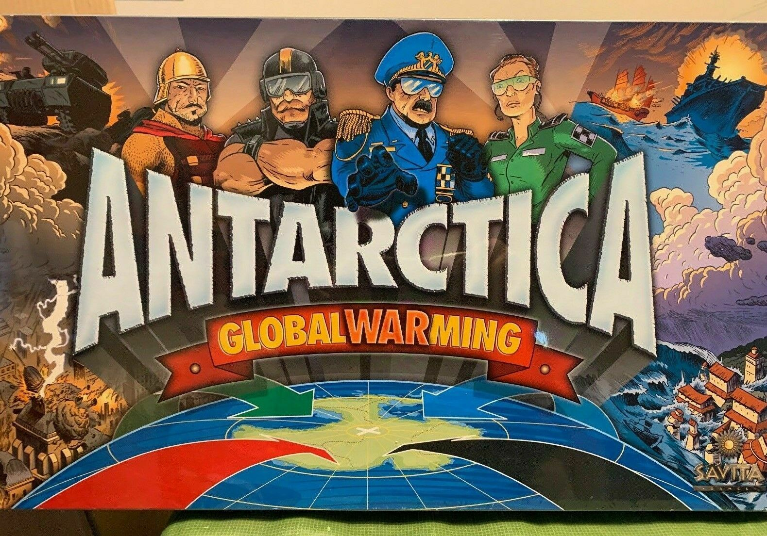 Antarctica Board Game - NEW SEALED