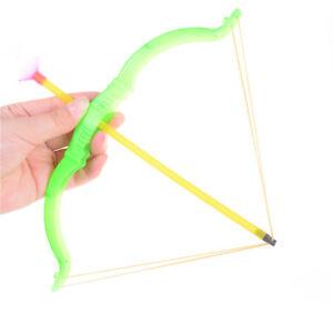 Plastic-Soft-Slingshot-Arrow-Set-Kids-Children-Educational-Outdoor-Toys-Gift-FR