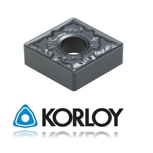 Korloy CCMT 32.52-HMP NC3120 Carbide Inserts Indexable 1-02-025434 10pc