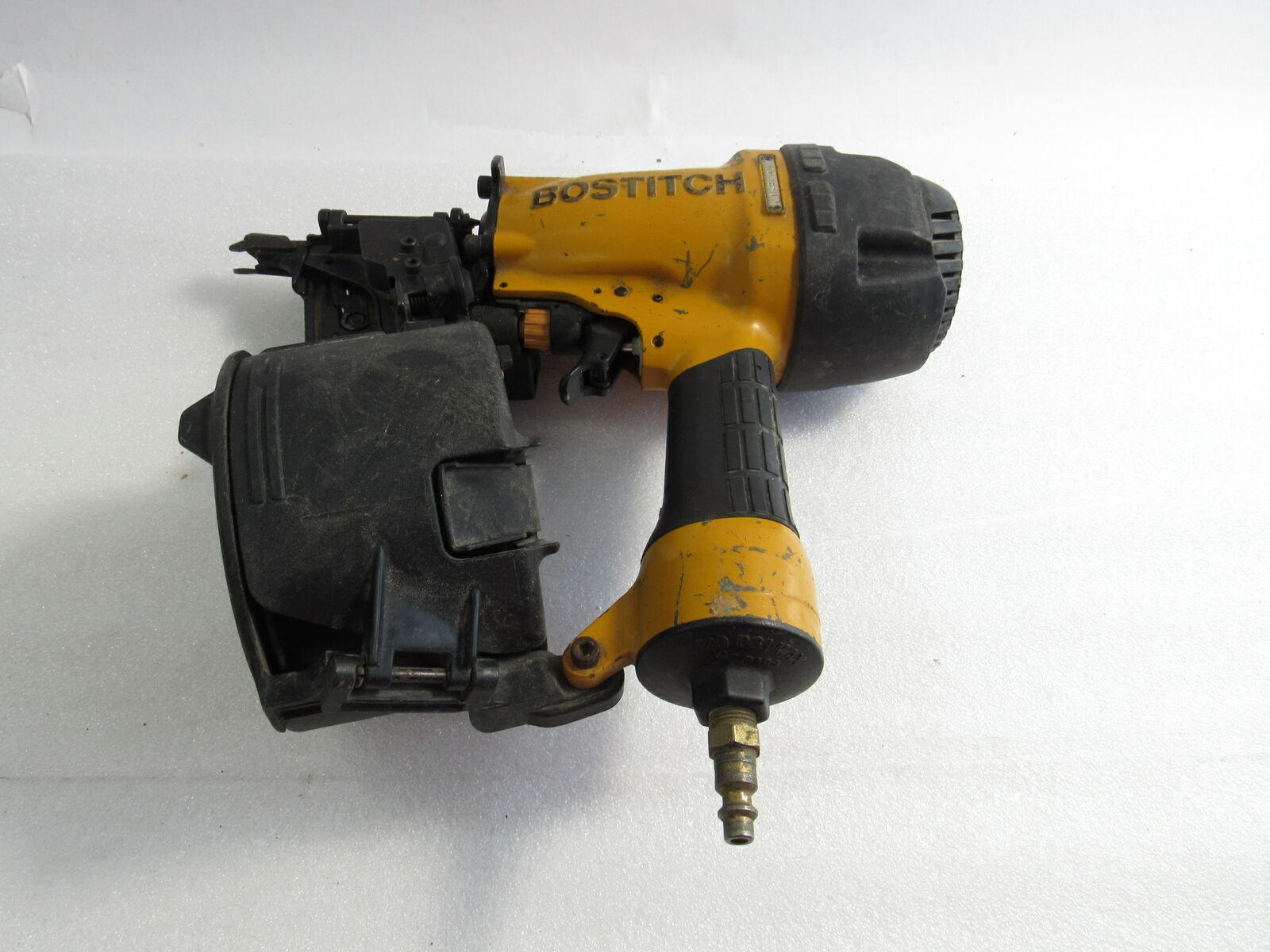 BOSTITCH N66C-1 Pneumatic Air-Powered Coil Siding Nailer, 1-1-1/4