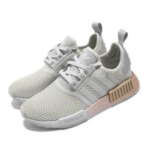 Adidas Originals Nmd R1 W Grey Gold Womens Casual Shoes Sneakers