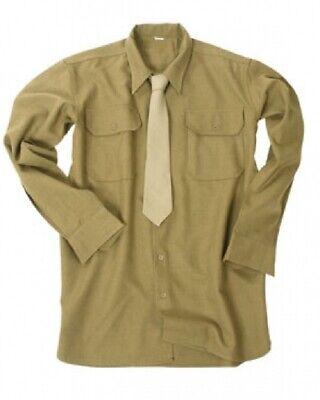 Coscienzioso Us Army Ww Ii Wk2 Campo Camicia M37 Marrone Senape Wwii (repro) Camicia Taglia M-mostra Il Titolo Originale A Tutti I Costi