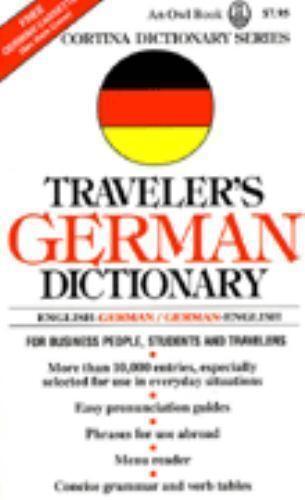 Traveler's German Dictionary by Josefa Zotter