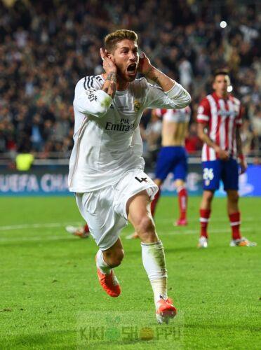 Poster A3 Sergio Ramos Real Madrid Futbol Football Cartel Deporte Sport Decor 06