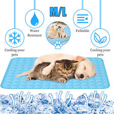Pet Cooling Mat Cool Pad Cushion Dog Cat Puppy Blanket For Summer Sleeping Bed