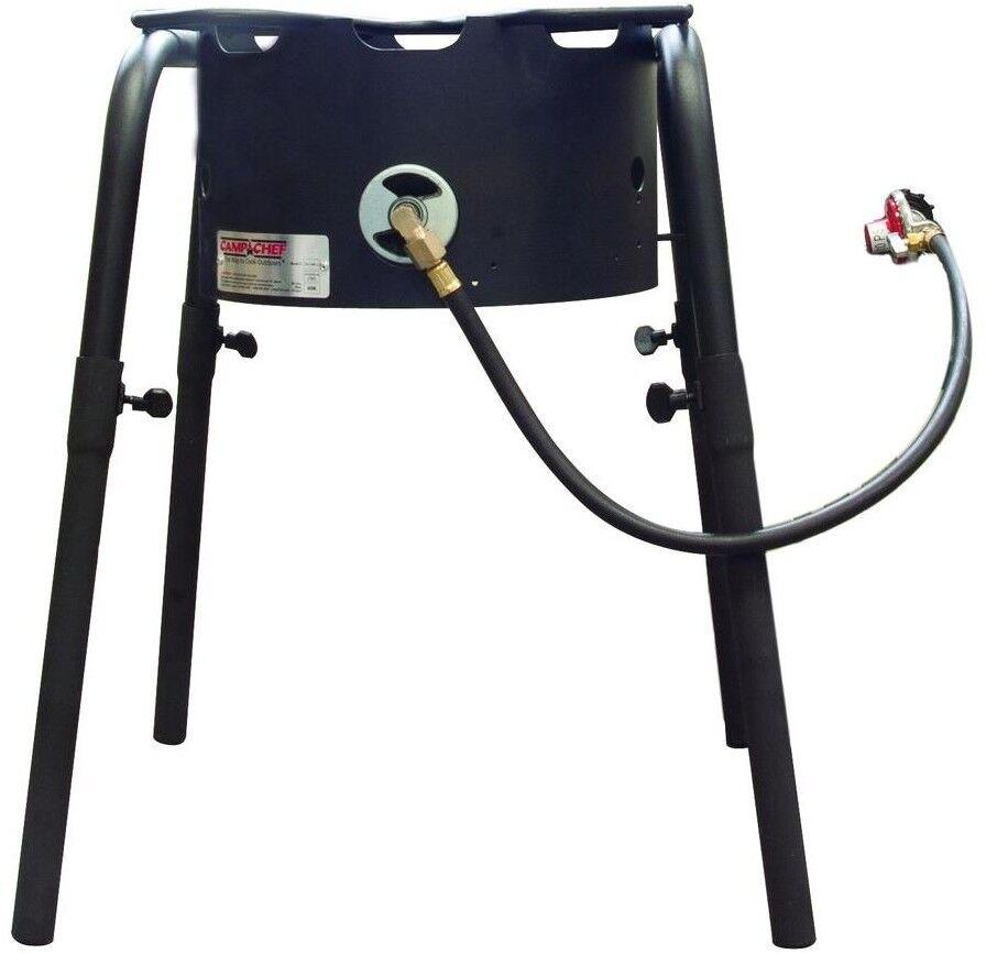 Camp Chef Maximum Output Steel Single Burner Stove Detachable Leg Outdoor Cooker