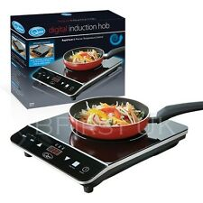 Pantalla LED táctil digital único Cocina eléctrica de placa caliente Placa de Inducción 2000w