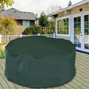 Garden Large Patio Set Round Cover
