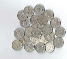 "Lot of 25 - Sixpence - Wedding - ""Something Old something New"" ** 25 Coins **"