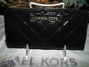 256982028088 Image is loading NWT-AUTHENTIC-MICHAEL-KORS-SUSANNAH-ZA-CONTINENTAL-LEATHER-